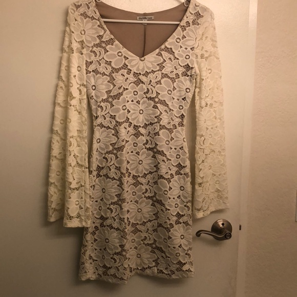 Charlotte Russe Dresses & Skirts - White Lace Dress